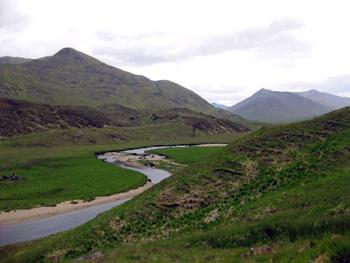 Восхождение на гору Шотландии