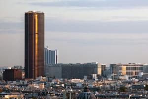 Посещение башни Монтпарнас
